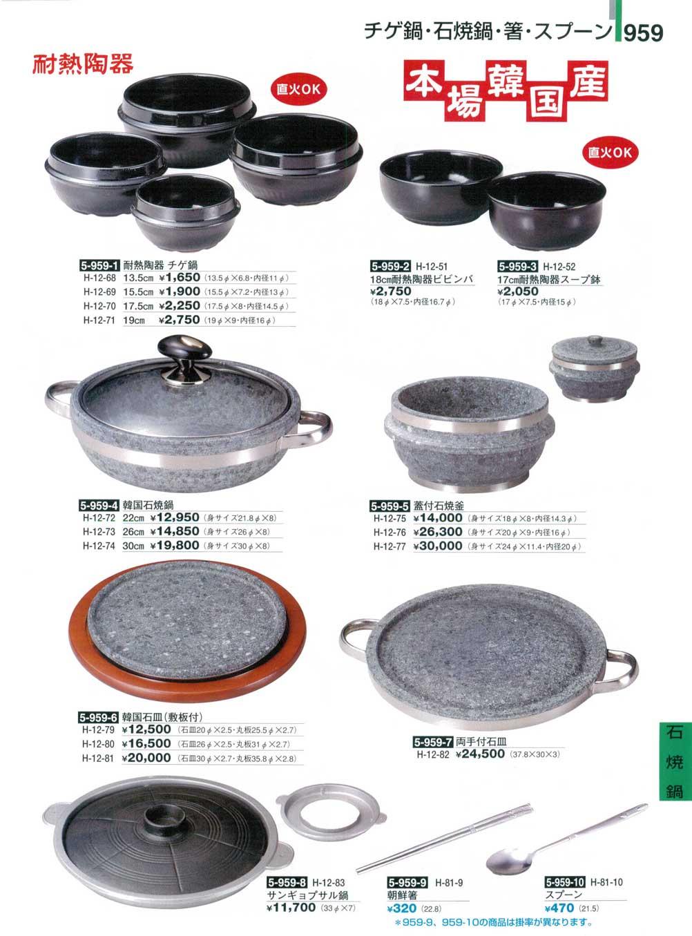 韓国 石皿 (敷板付)